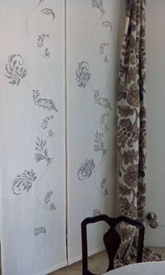Le tele di #lino #dipinte #amano in #bianco e #nero #amoreperlacasa #letendedimariano #verona #interiordesign #tessuti Arredamento Mariano, negozio tende verona, tende verona, negozi tende verona